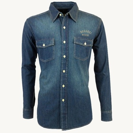 Denim Shirt Dark- XXL