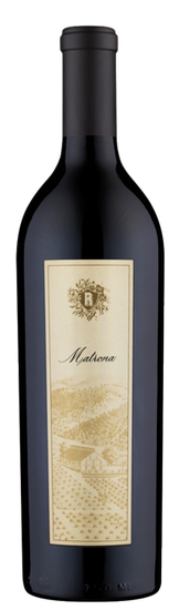 2016 Matrona Red Wine